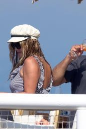 Nina Agdal and Jack Brinkley-Cook on Holiday in Capri 07/29/2018