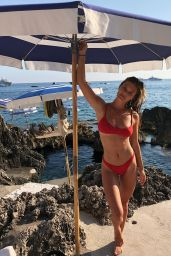 Nina Agdal in Bikini – Social Media 07/31/2018