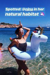 Nina Dobrev - Social Media 07/31/2018