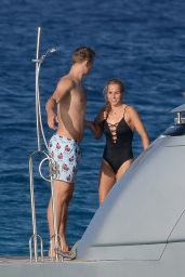 Nina Weiss on Holiday in Formentera 07/16/2018