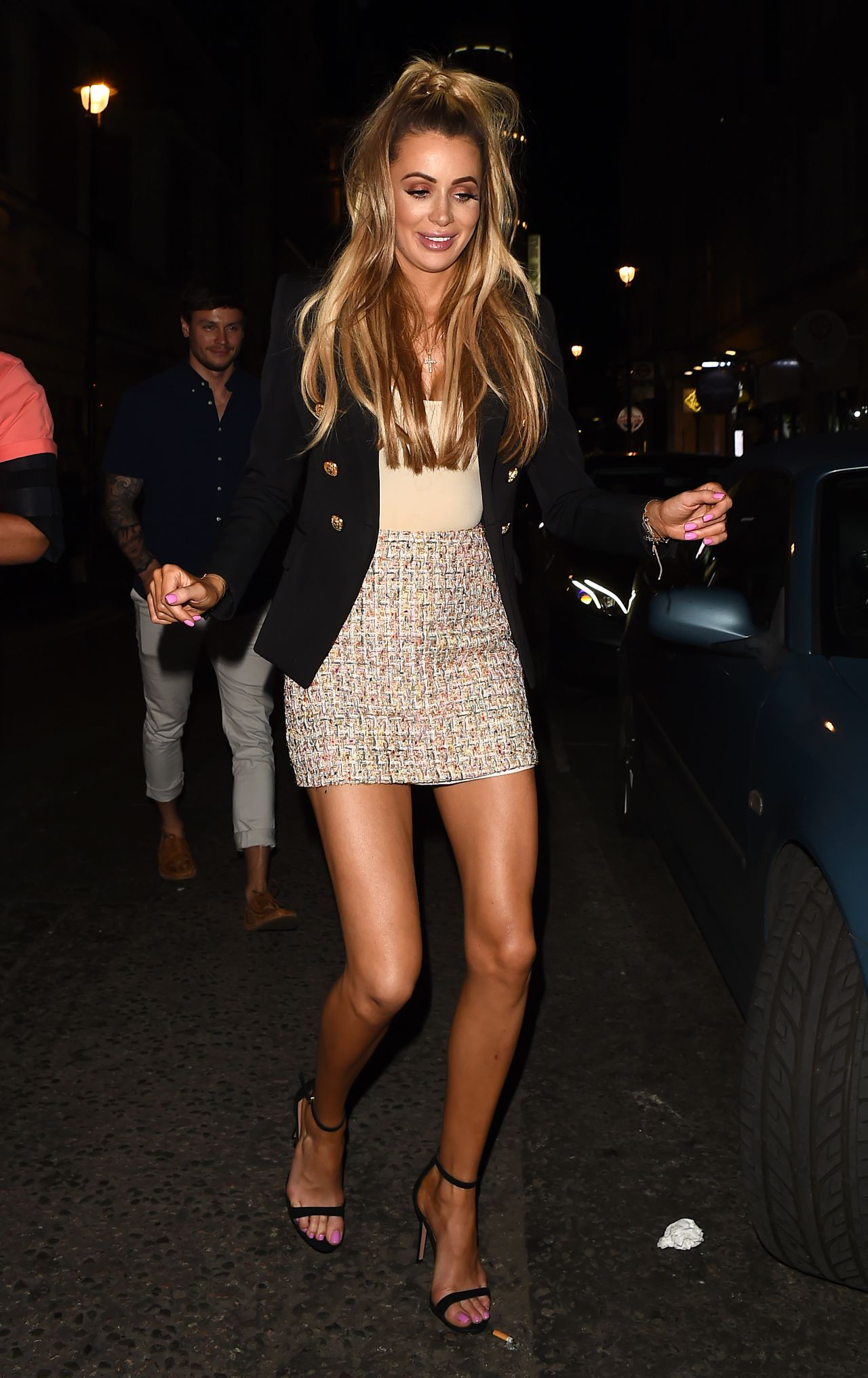 Olivia Attwood Night Out Style - Cafe De Paris In London -6365