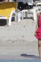 Olivia Culpo at a Beach in Fomentera, June 2018