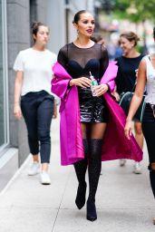 Olivia Culpo is Stylish - New York 07/30/2018
