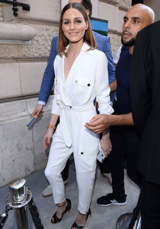 Olivia Palermo - Ralph & Russo Haute Couture Fall Winter 2018/19 Show in Paris