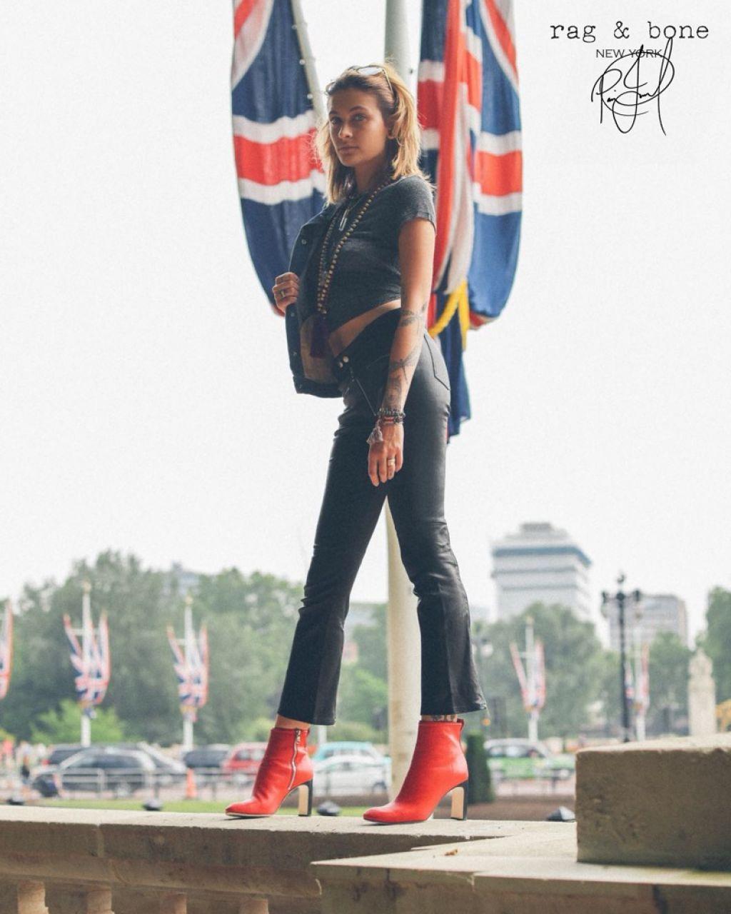 Paris Jackson 2018 Rag Amp Bone Photoshoot