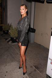 Peta Murgatroyd in a Sparkly Dress - Catch LA in Los Angeles 07/27/2018