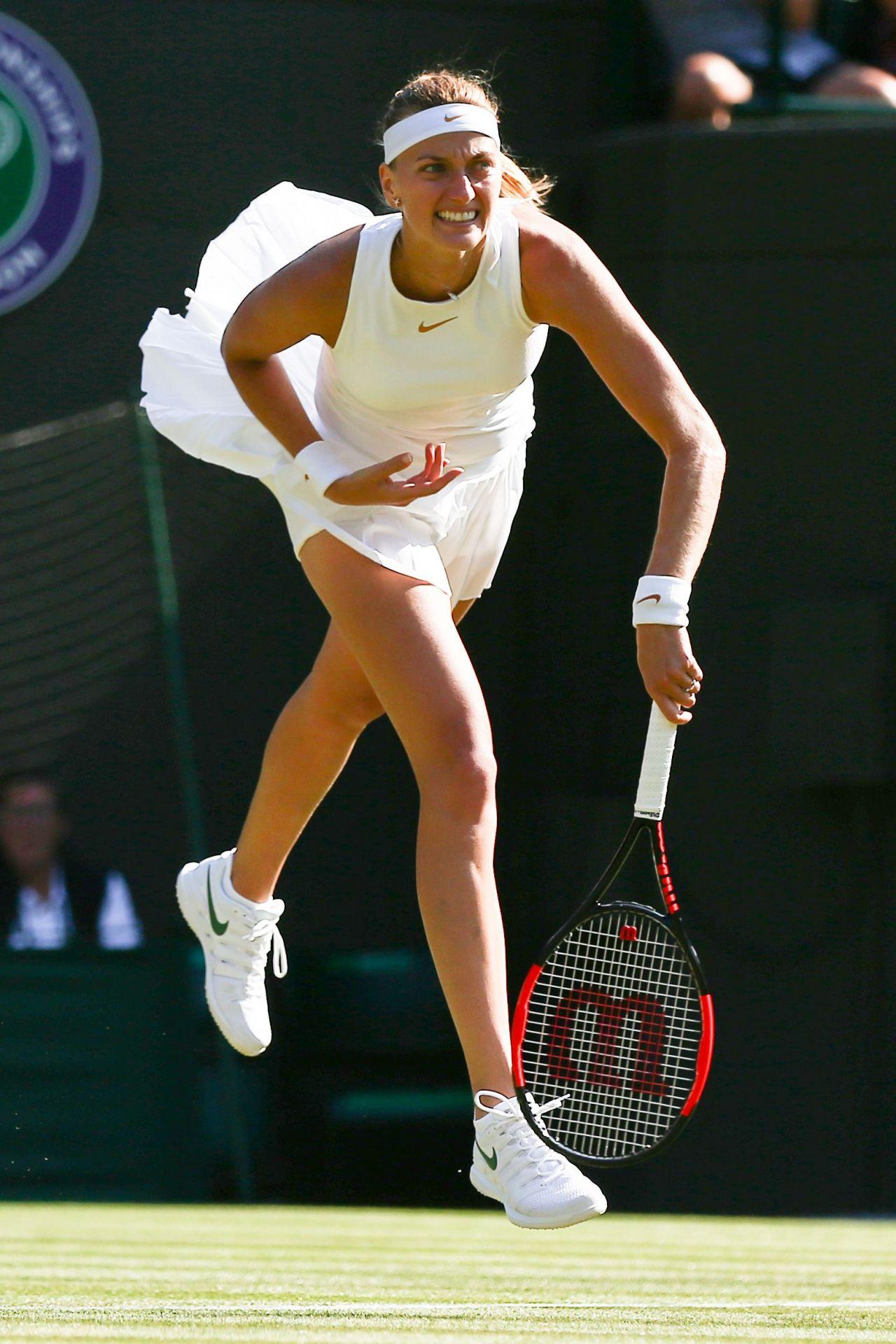 Petra Kvitova Wimbledon Tennis Championships In London