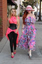 Phoebe Price and Marcela Iglesias - Beverly Hills 07/27/2018