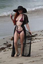 Phoebe Price in Bikini on the Beach in Malibu 07/18/2018