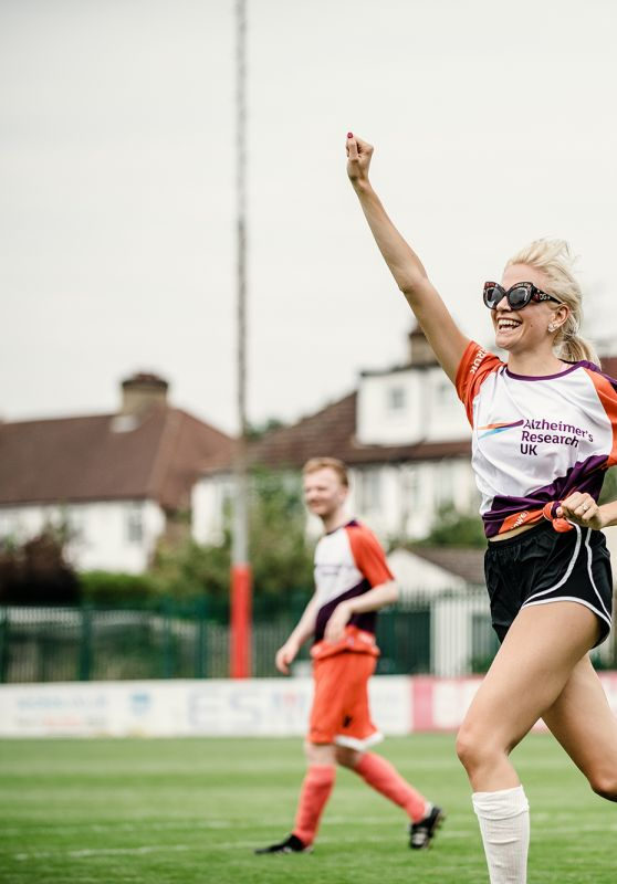 Pixie Lott - Charity Football Match for Alzheimer's Research UK, July 2018