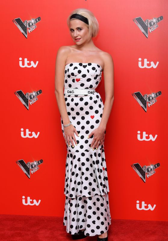 Pixie Lott - The Voice Kids Photocall in London 07/12/2018