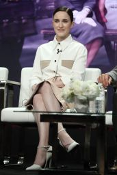 "Rachel Brosnahan - ""The Marvelous Mrs. Maisel"" TV Show Panel at 2018 TCA Summer Press Tour in LA"