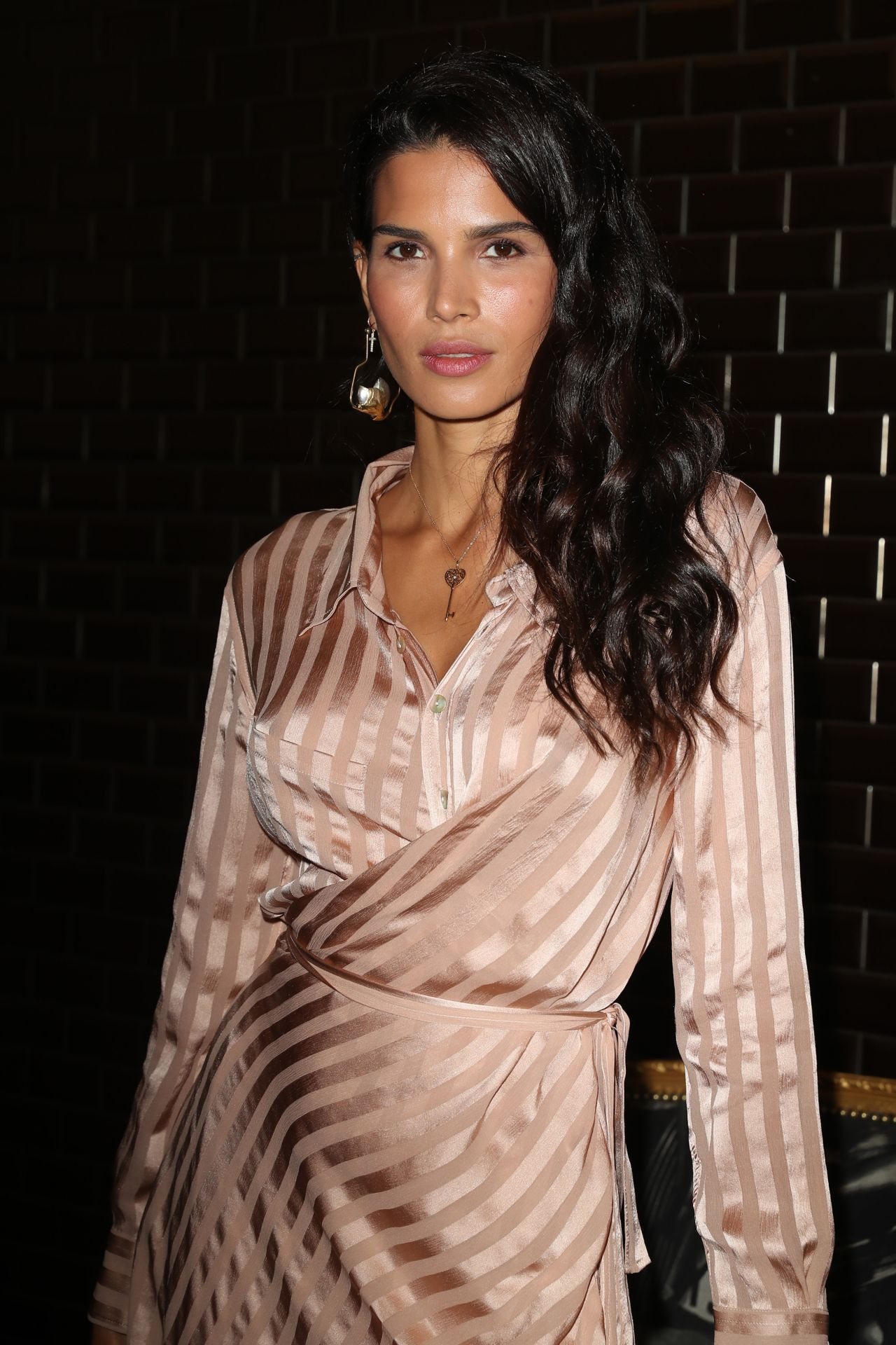 Raica Oliveira At Jean Paul Gaultier Fashion Show In Paris