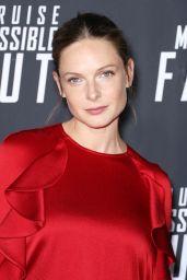 """Rebecca Ferguson – """"Mission: Impossible: Fallout"""" Premiere in Washington DC"""