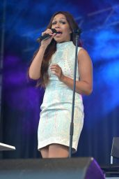 Rebecca Ferguson Performs at South Sheilds Bents Park 07/29/2018