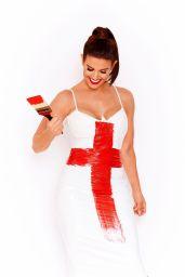 Rebekah Vardy - England World Cup Photoshoot 2018