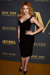 Renee Olstead – Maxim Hot 100 Experiences Party 2018