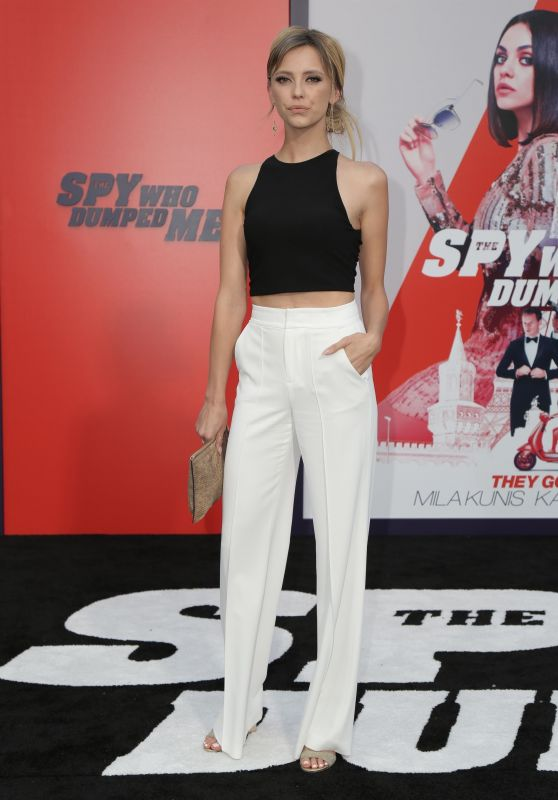 "Riley Voelkel – ""The Spy Who Dumped Me"" Premiere in LA"