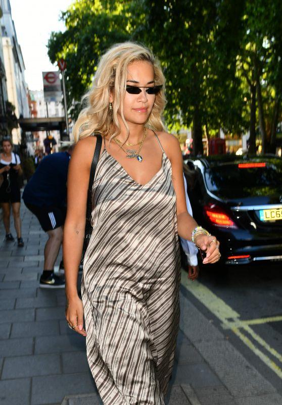 Rita Ora at Private Member
