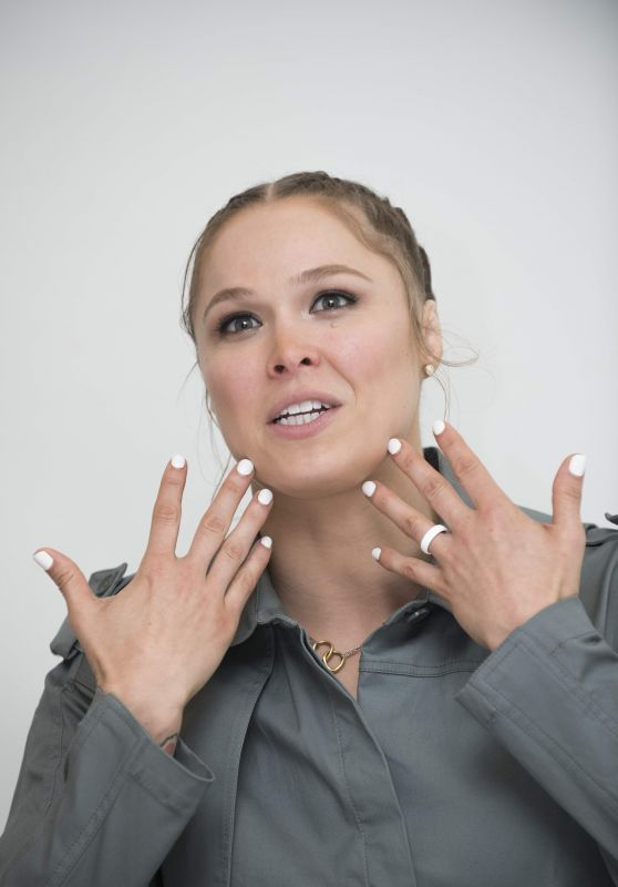 Ronda Rousey - Photocall in West Hollywood 07/27/2018