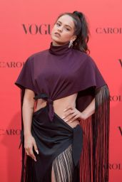 Rosalia – VOGUE Spain 30th Anniversary Party in Madrid