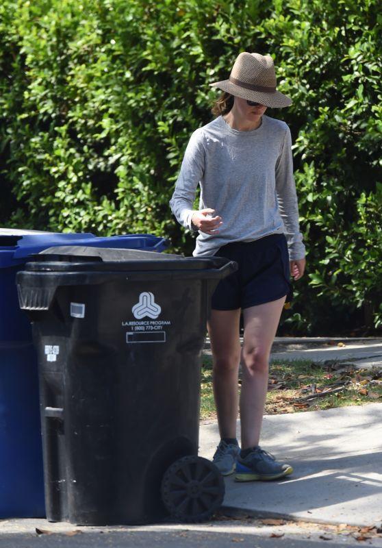 Rose Byrne - Takes in the Trash Bins in Los Angeles 07/12/2018