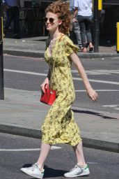 Rose Leslie - Out in London, July 2018