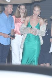 Rosie Huntington at Nobu in Malibu 07/27/2018