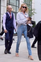Rosie Huntington-Whiteley Casual Style - New York 07/18/2018