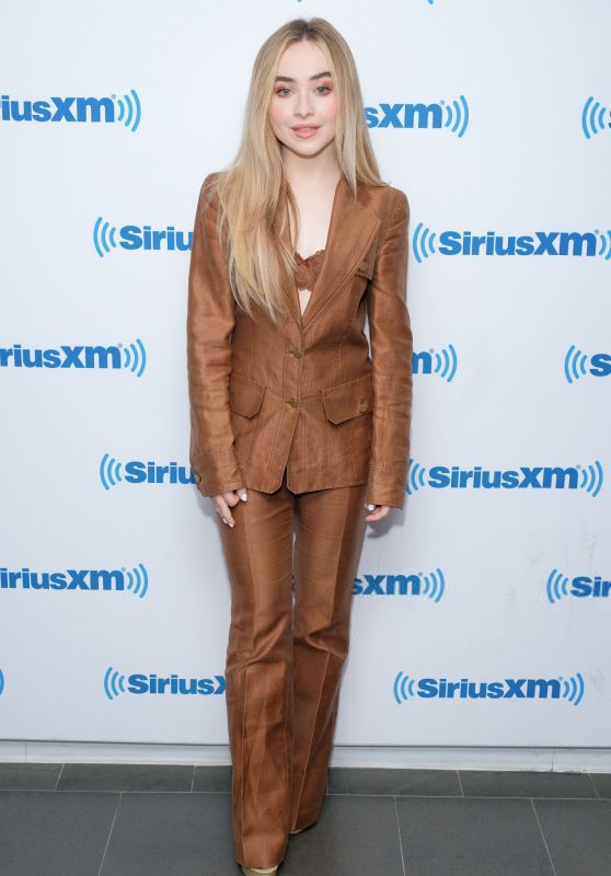 Sabrina Carpenter - SiriusXM Studios in NYC 07/26/2018