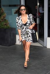 Sam Faiers - Leaving Park Plaza Westminster Hotel in London 07/05/2018