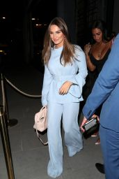 Sam Faiers Night Out Style - ITV Summer Party at Nobu in London