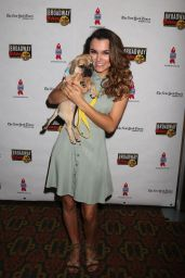 Samantha Barks - Broadway Barks Animal Adoption Event in New York 07/14/2018