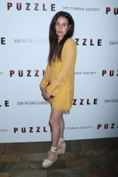 "Samantha Michelle – ""Puzzle"" Screening in New York"