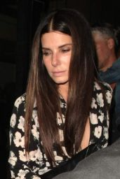 Sandra Bullock - Celebrates Her 54th Birthday at Mr. Chow in Beverly Hills