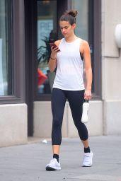 Sara Sampaio in Leggings - Out in New York 07/15/2018
