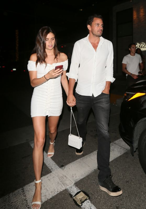 Sara Sampaio - Leaving Avra Beverly Hills Celebrating Her 27th Birthday Party in Beverly Hills