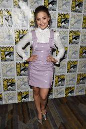 "Sarah Jeffery – ""Charmed"" TV Show Photocall at Comic-Con San Diego"