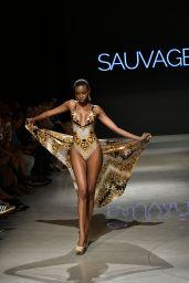 Sauvage Swimwear, Art Hearts Fashion at Miami Swim Week 07/13/2018