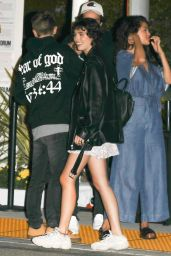 Selena Gomez and Caleb Stevens Night Out at the Forum in Inglewood 07/24/2018