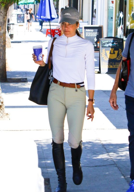 Selma Blair in Riding Gear - Los Angeles 07/05/2018