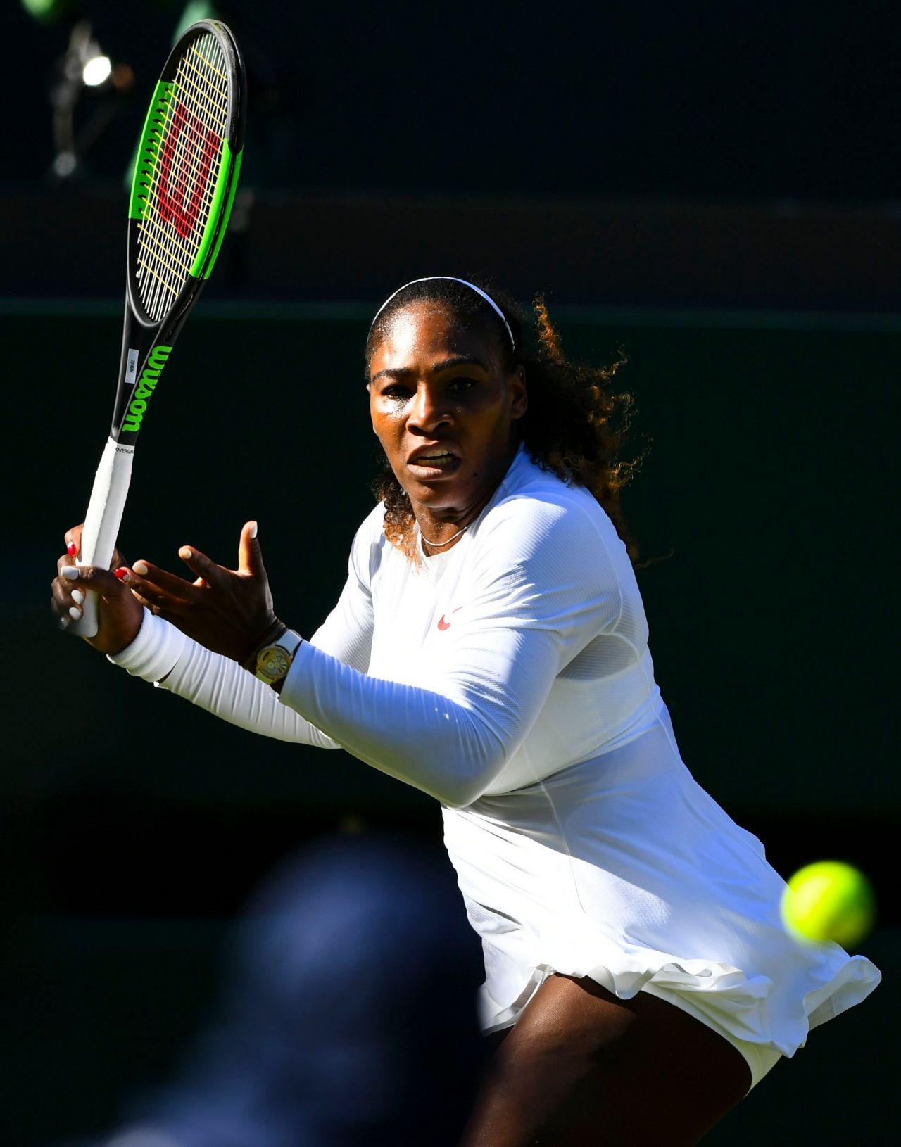 serena williams  u2013 wimbledon tennis championships in london 07  02  2018
