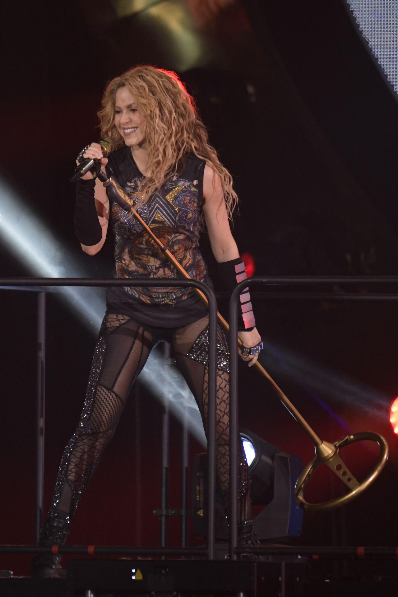 Shakira Quot El Dorado World Tour Quot In Madrid 07 03 2018