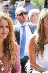 Shakira - Visits the Northern Lebanese Mountain Village of Tannourine, Lebanon 07/13/2018