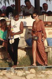 Shanina Shaik and DJ Ruckus in Formentera 07/25/2018