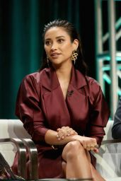 """Shay Mitchell - """"YOU"""" Panel at 2018 Summer TCA Press Tour in LA"""