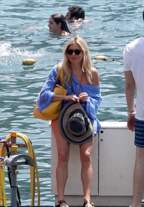 Sienna Miller - Vacation in Positano, Italy 06/30/2018