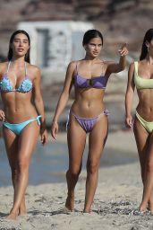 Silvia Caruso Hot in Bikini on the Beach in Mykonos 07/16/2018