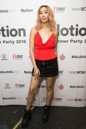 Snoochie Shy – Notion Magazine Summer Party 2018 in London