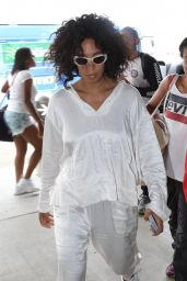 Solange Knowles Street Style - Los Angeles 07/26/2018